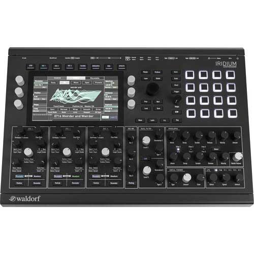 Waldorf Iridium 16-Voice Digital Analog Synthesizer