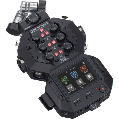 Zoom H8 Audio Recorders with USB Audio Interface