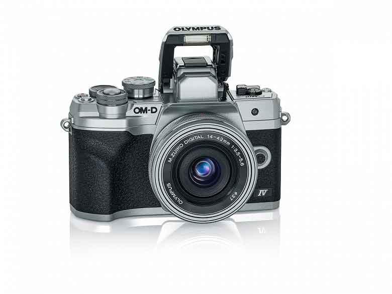 Olympus OM-D E-M10 Mark IV Micro Four Thirds camera