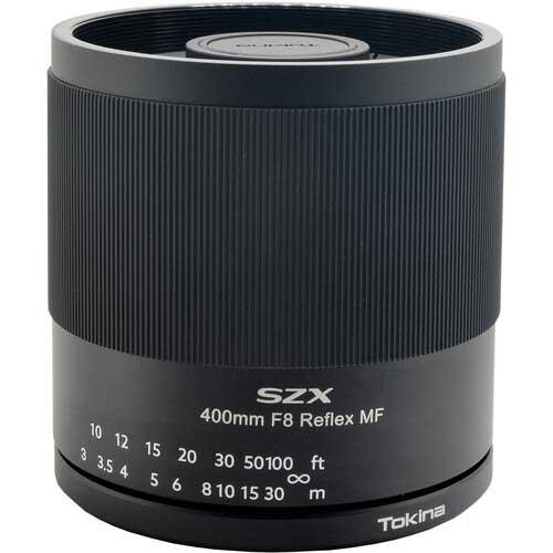 Tokina SZX Super Tele 8 / 400mm Reflex MF catadioptric lenses
