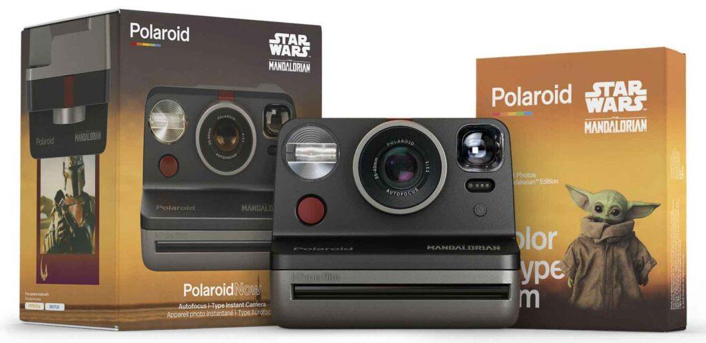 instant camera Polaroid Now Disney  Mandalorian