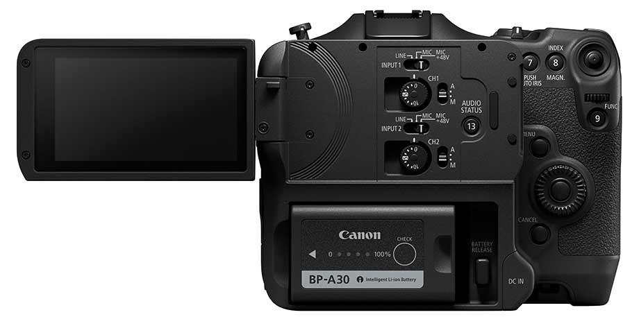 canon c70 cinema camera