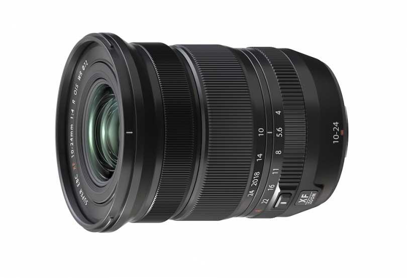 Fujifilm XF 10-24mm f/4 R OIS WR wide angle lens