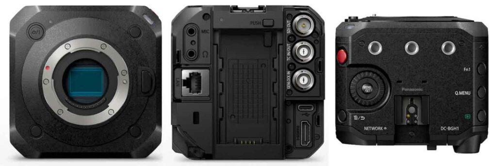 Panasonic Lumix BGH1 4K Box Camera
