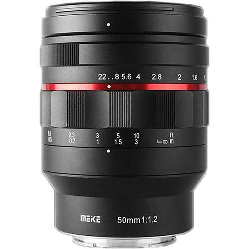 Meike 50mm f1.2 Lens for Canon RF, Leica L, Nikon Z, Sony E