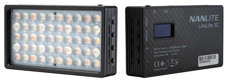 Nanlite LitoLite 5C Mini LED Lights: Mini Light Box