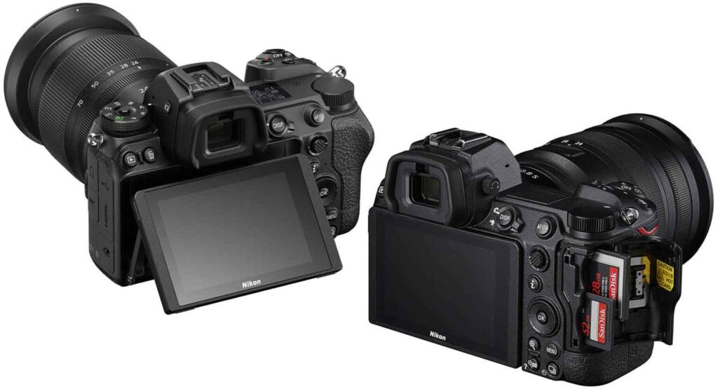 Nikon Z7II and Z6II Mirrorless Cameras