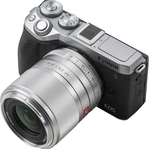 Viltrox 23mm f1.4 AF for canon eos m