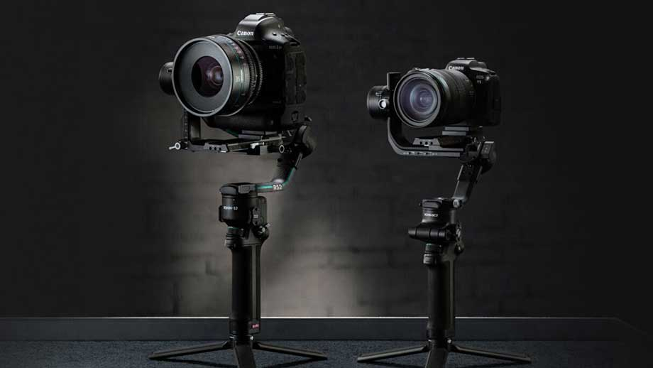 DJI RS 2 and RSC 2 Camera Gimbals for Mirrorless and DSLRs