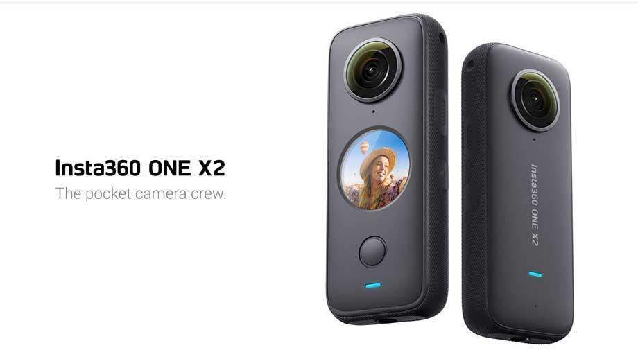 Insta360 ONE X2 360-degree VR Camera