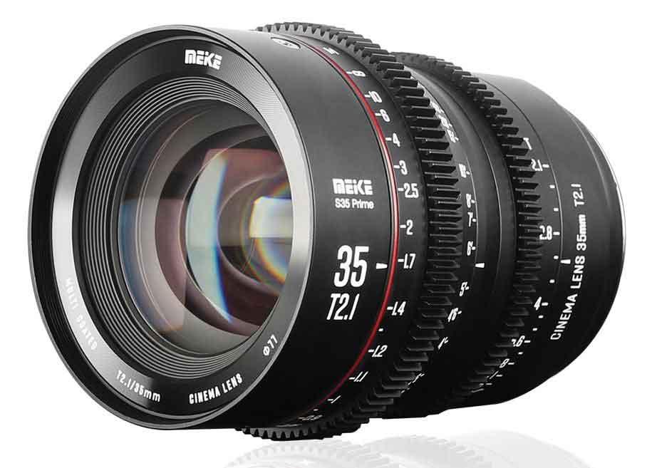 Meike 35mm T2.1 Super35 Cinema Prime Lens for PL and EF