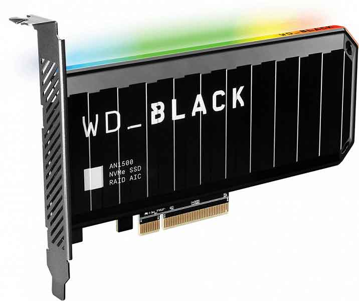 WD_BLACK AN1500 PCIe NVMe SSD Add-in-Card