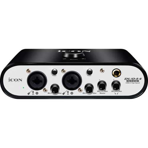 iCON Pro Audio Duo22 Live and Duo44 Live USB Audio Interfaces