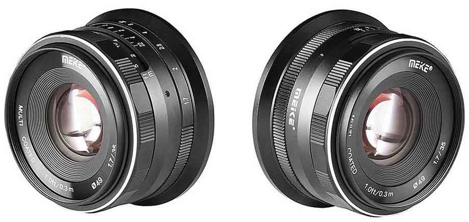 Meike 35mm f1.7 for Nikon Z camera