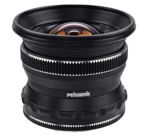 Pergear 12mm F2 Wide Angle Lens