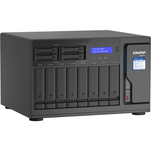 QNAP TVS-h1288X and TVS-h1688X with Intel Xeon processor