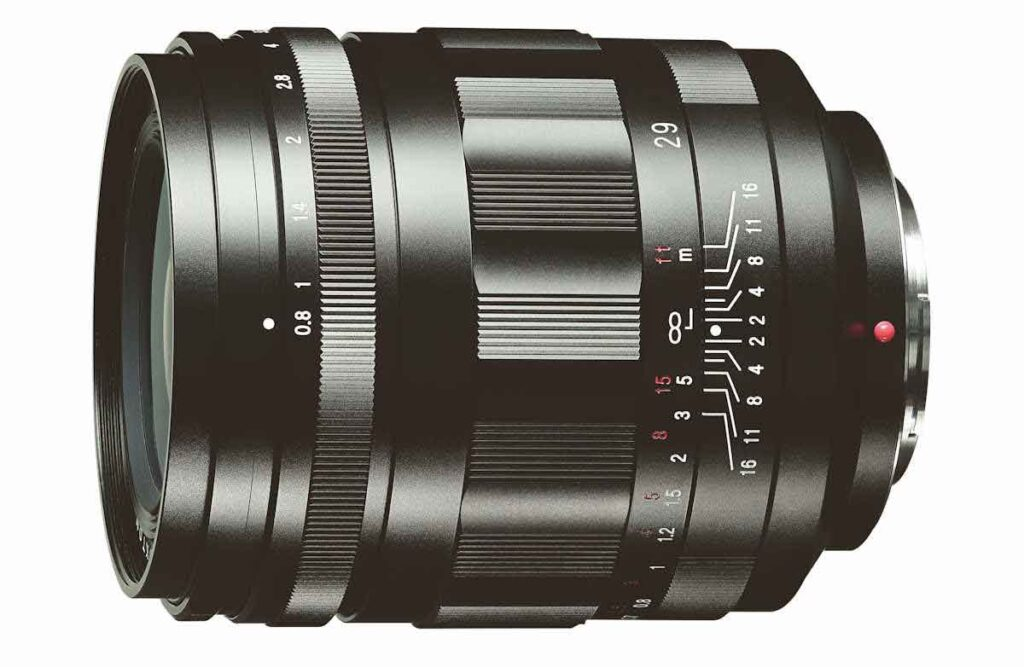 Voigtlander Super Nokton 29mm F0.8 Aspherical Lens for Micro Four Thirds