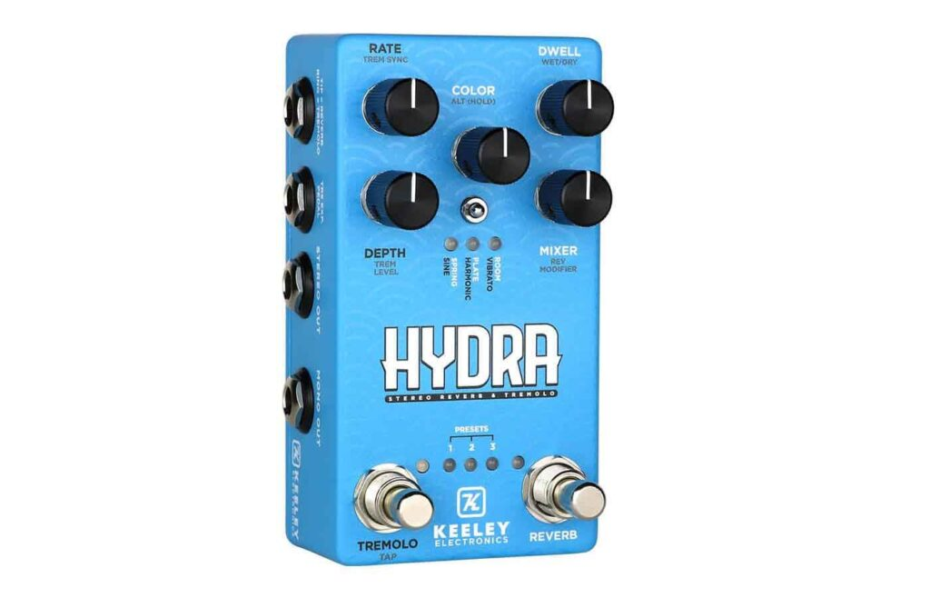 Keeley HYDRA Guitar Effects pedal