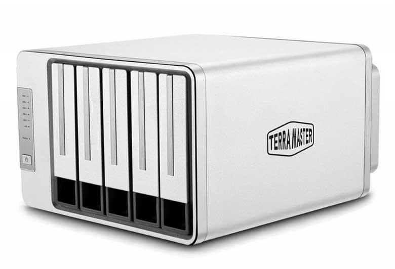 TerraMaster F5-221 NAS Cloud Storage Plex Media Server