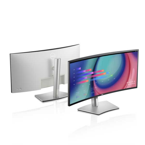 Dell U3421WE 60Hz Monitor With KVM switch and USB Type C