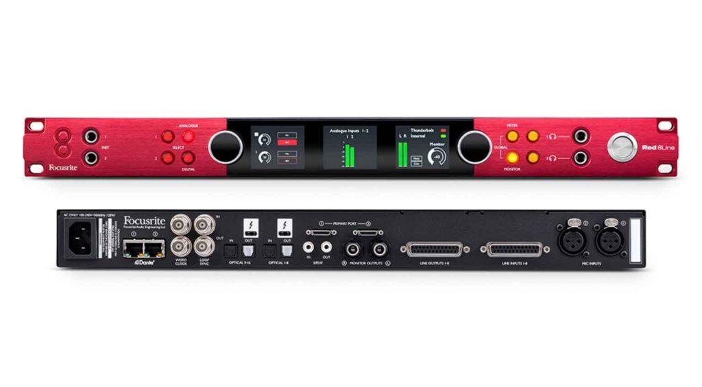 Focusrite Red 8Line media Audio Interface