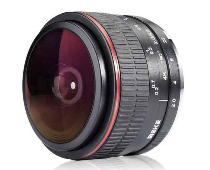 Meike 6.5mm F2.0 FishEye Lens for Nikon Z