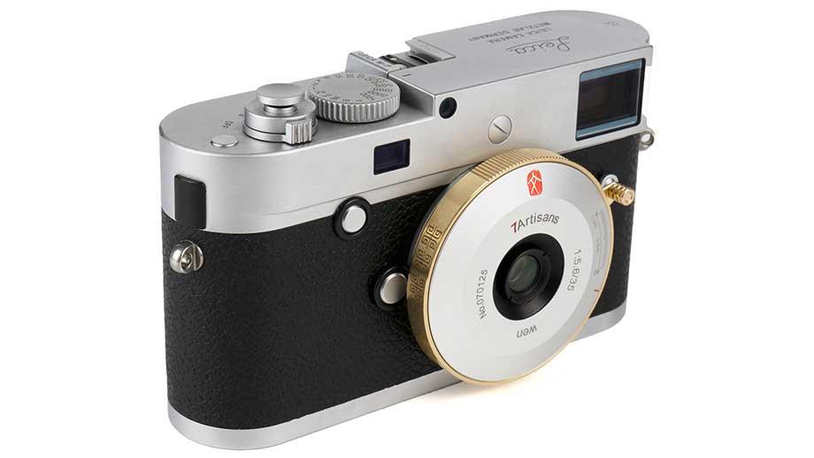 7artisans 35mm F5.6 Photoelectric Pancake Lens for Leica M