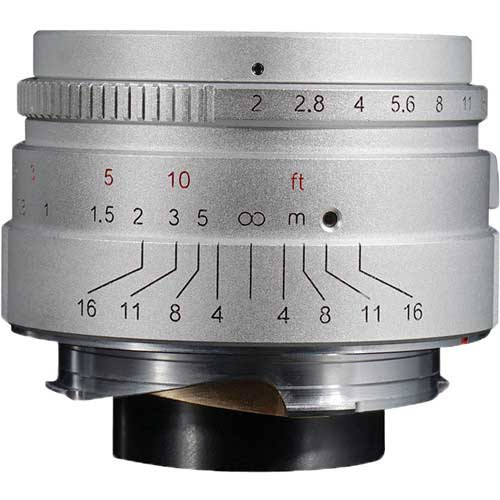 7Artisans 35mm f2 Limited Silver Edition for Leica M
