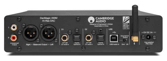 Cambridge Audio DacMagic 200M: DAC and Preamplifier