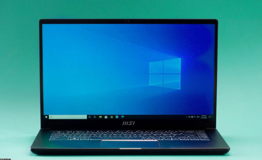 MSI Summit E15 review