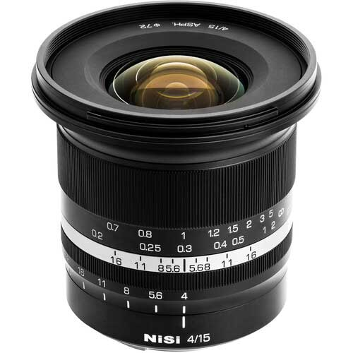 NiSi brings 15mm F4 Sunstar ASPH super wide angle lens for Canon RF, Nikon Z, Sony E, and Fuji X