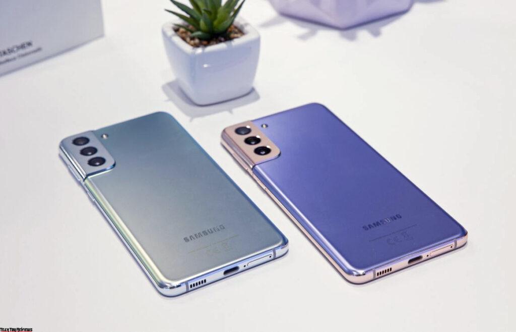 Samsung Galaxy S21 and Samsung S21 Plus