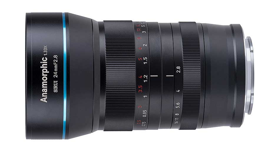 Sirui 24mm F2.8 Anamorphic 1.33x Lens