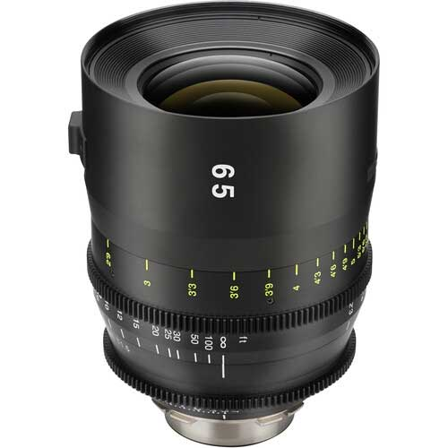 Tokina 65mm T1.5 cinema vista prime lens