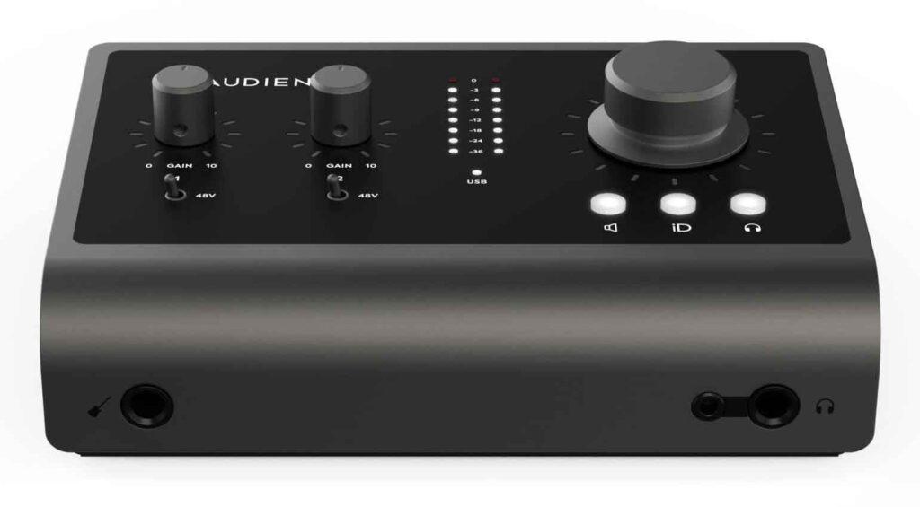 Audient iD4 MKII audio interfaces