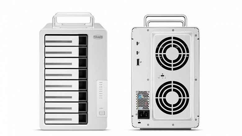 TerraMaster D8 Thunderbolt 3 External Drive Device