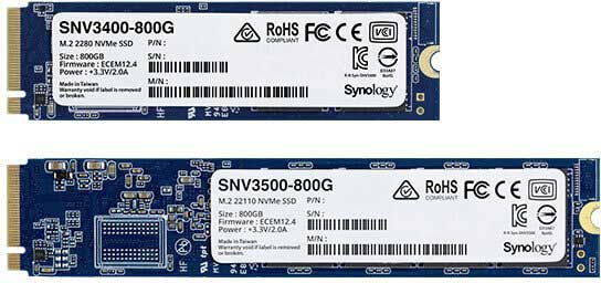 Synology M.2 2280 SSD SNV3400 800GB