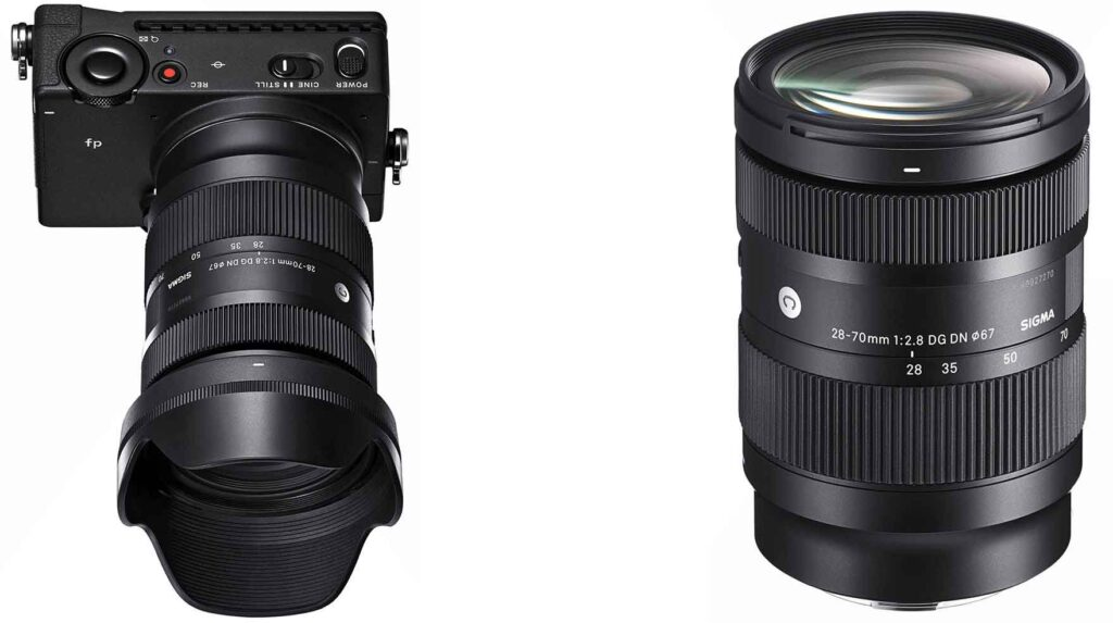 Sigma 28-70mm F2.8 DG DN Contemporary Lens for Sony, Leica, Panasonic, and Sigma Cameras