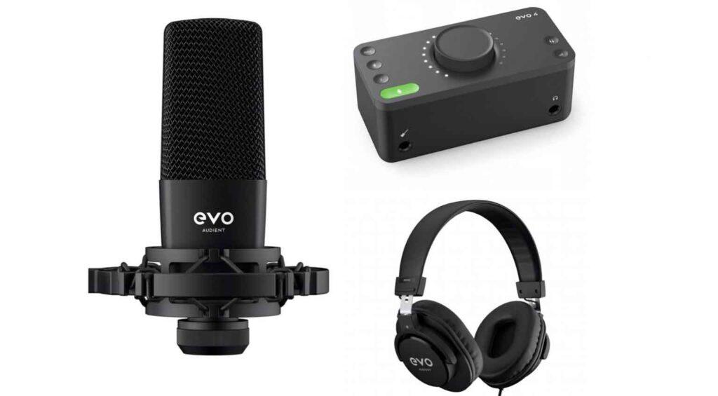 EVO 4 bundle audio interfaces