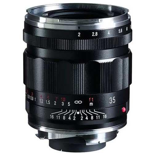 Voigtlander 35mm F2.0 Lenses for Leica M and Sony E