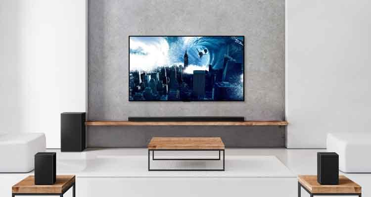 LG home surround sound system