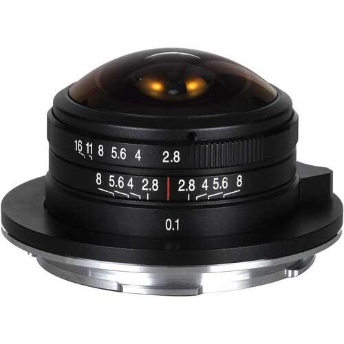Laowa 4mm F2.8 Fish eye L-Mount