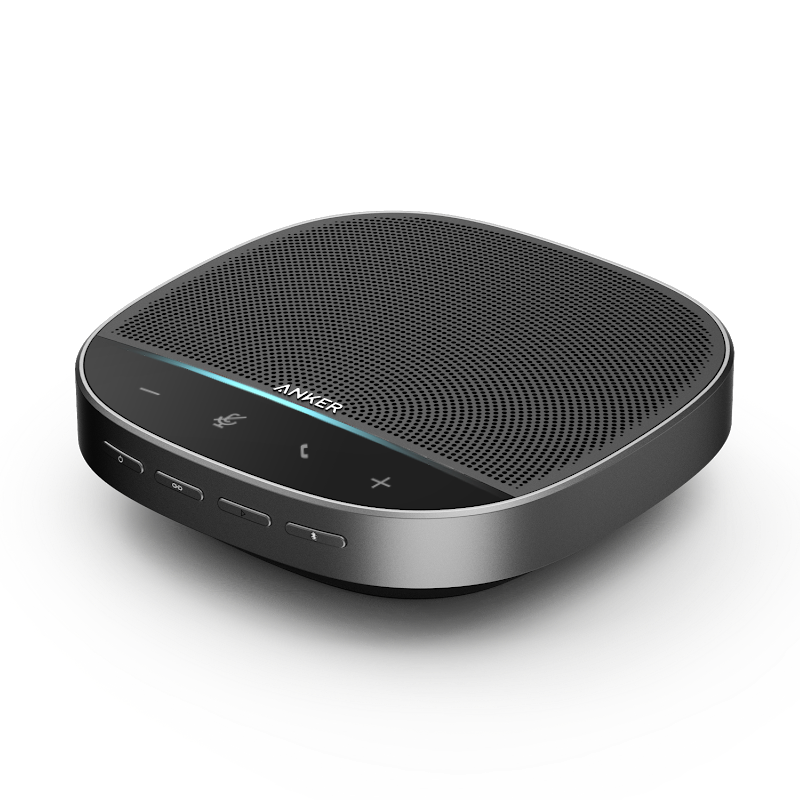 Anker PowerConf C300 1080p 60fps Webcam and PowerConf S500 Conference Speaker