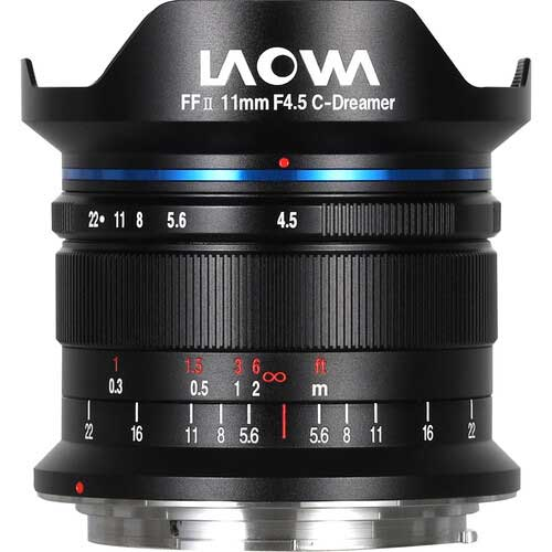 Venus Optics Laowa 11mm F4.5 FF RL for Canon RF
