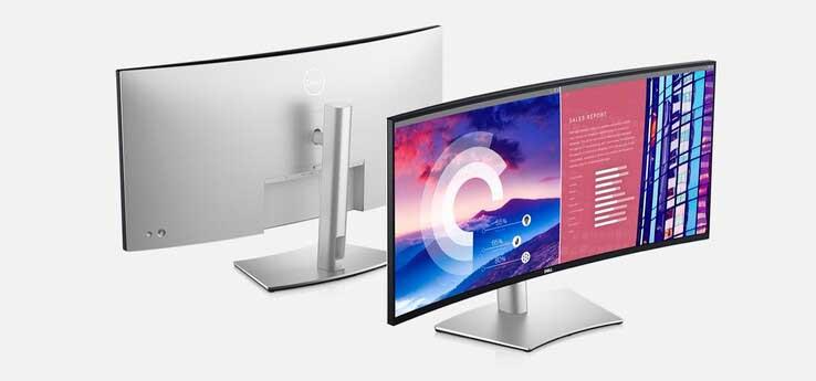 Dell UltraSharp U3821DW Curved Screen Monitor