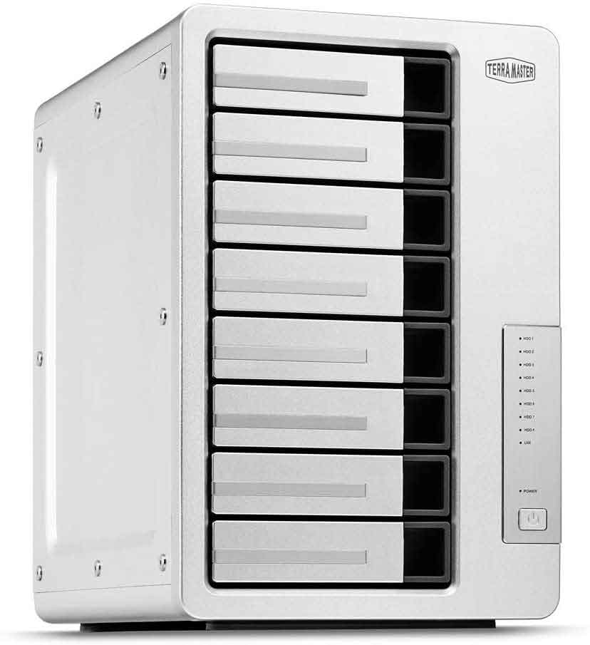 TerraMaster F8-422 NAS simple storage network
