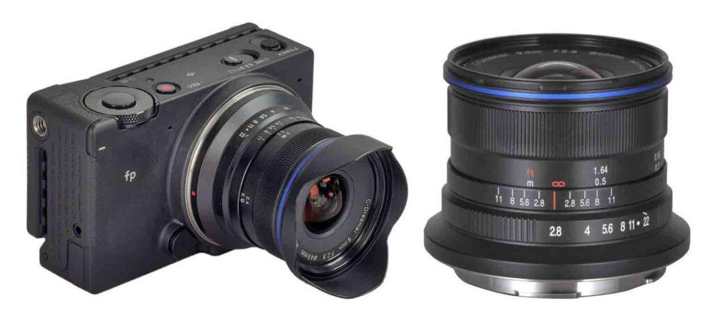 Laowa 9mm F2.8 Zero-D Lens for Leica L mount
