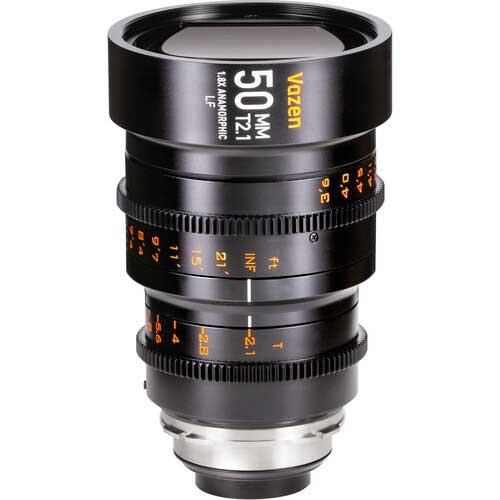 Vazen 50mm T2.1 1.8x Anamorphic lens