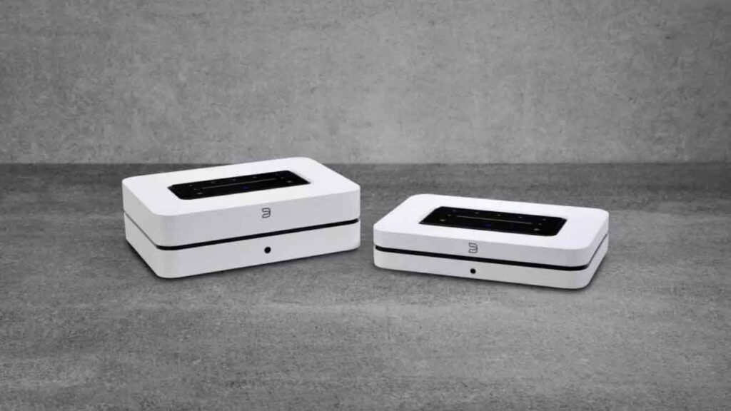 Bluesound Node and Powernode Wireless Hi-Res Audio Music Streamers