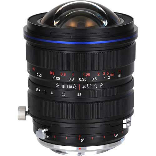 Laowa 15mm f4.5 Zero-D Shift for pentax and leica l